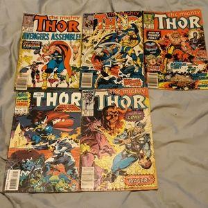 Marvel The Mighty Thor comics